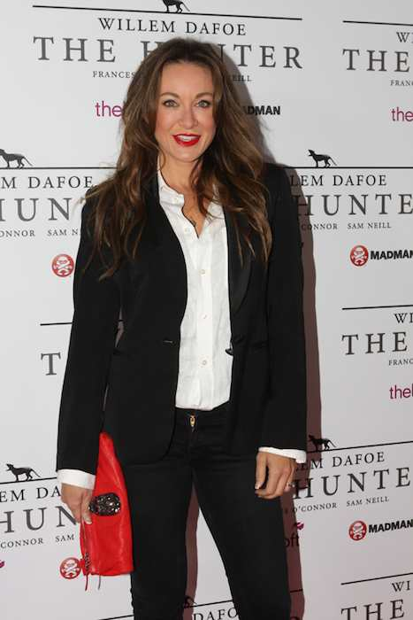 Michelle Bridges at The Hunter movie premiere in September 2011