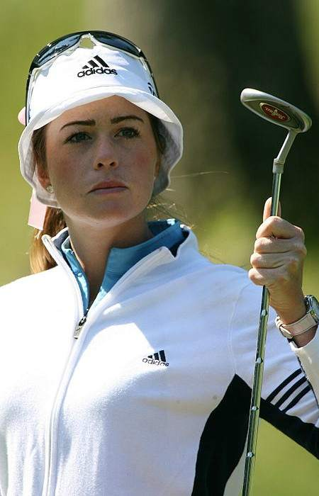 Paula Creamer during practice before the 2007 LPGA Championship