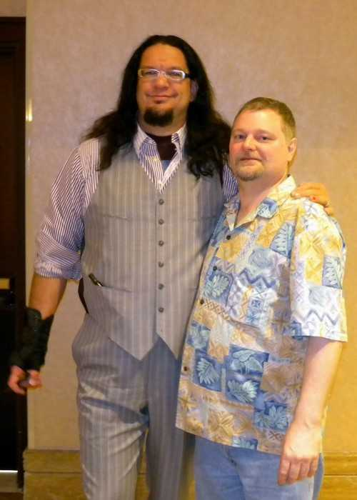 Penn Jillette With Fellow Illusionist Teller in the Team Penn & Teller