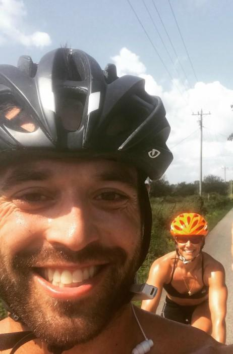 Rich Froning Jr. and Elly Kabboord in an Instagram selfie as seen in September 2017