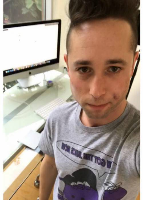 Rucka Rucka Ali in a selfie in November 2017