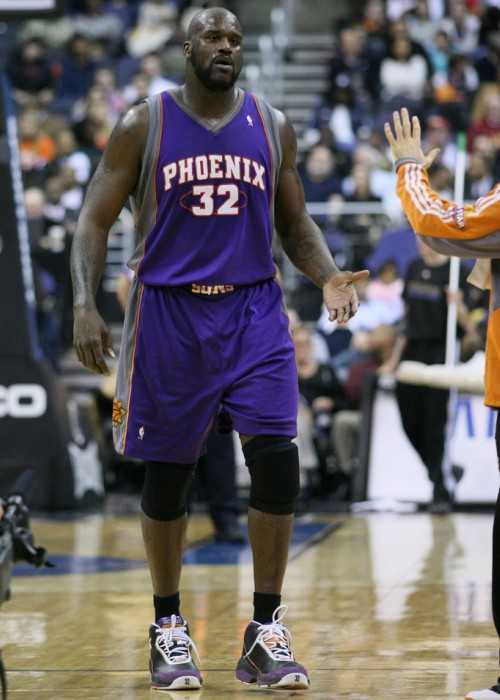 Shaquille O'Neal as seen in January 2009