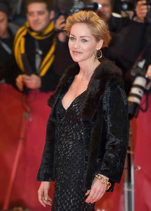 Sharon Stone at the When a Man Falls in the Forest premiere in 2007