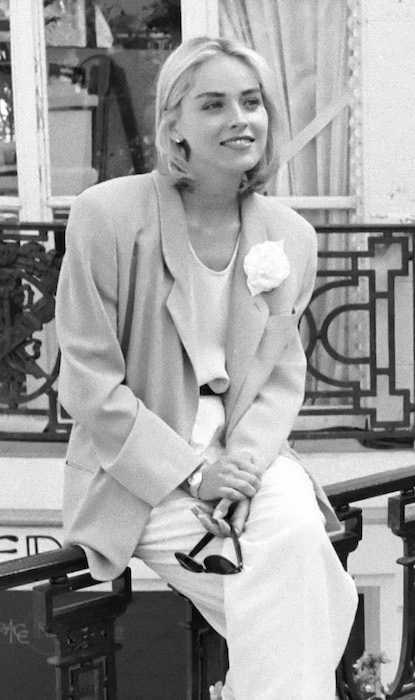 Sharon Stone au Festival du cinéma américain de Deauville