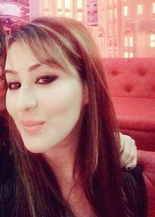 Shilpa Shinde in an Instagram selfie as seen in January 2018
