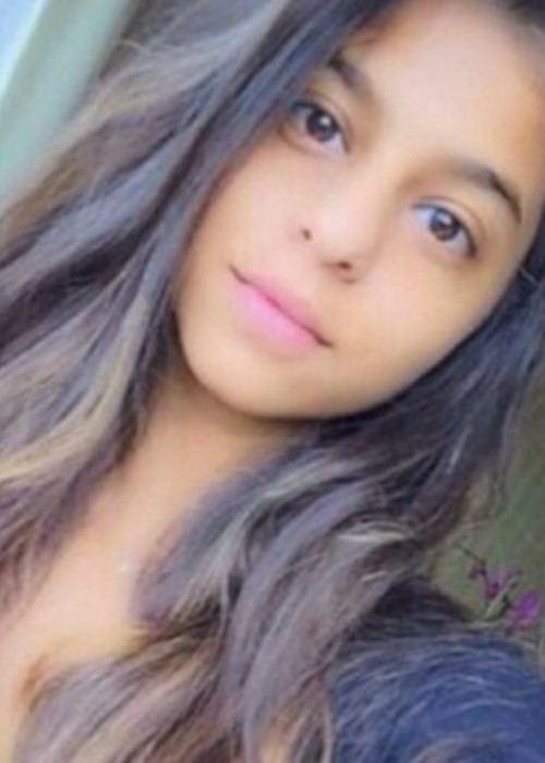 Suhana Khan in a selfie