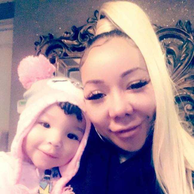 Tameka Cottle and her daughter Diana in a selfie in November 2017
