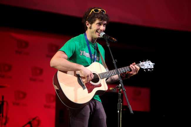 Toby Turner performing at 2014 VidCon in California