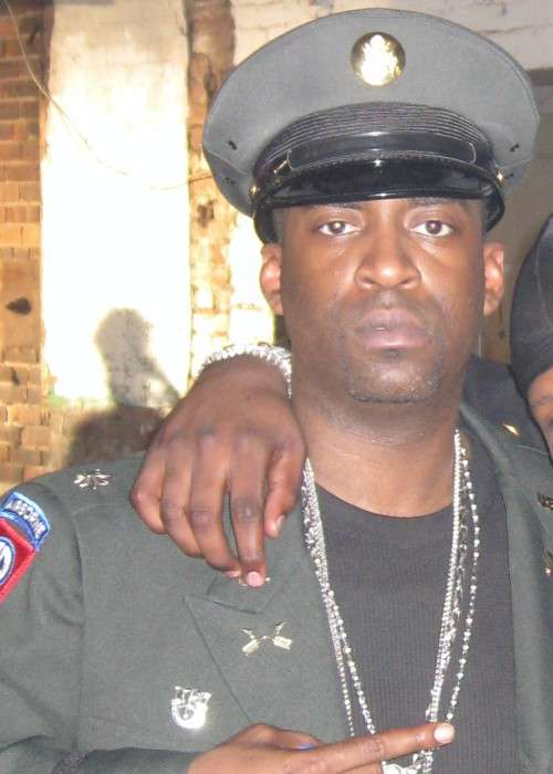 Tony Yayo at the Rider Pt. 2 video shoot in April 2008
