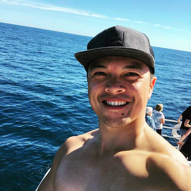 Vincent Rodriguez III on a vacation in January 2018