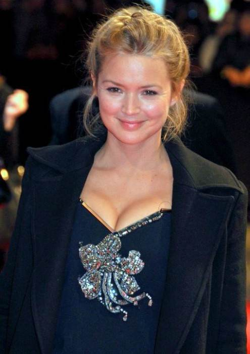 Virginie Efira at the premiere of Carnage in November 2011
