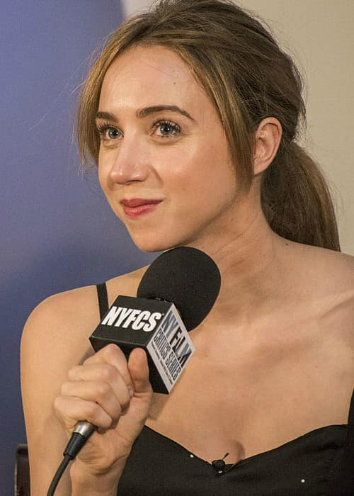 Zoe Kazan at the New York Film Critic Series screening of What If in July 2014