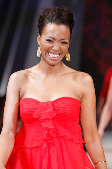 Aisha Tyler at The Heart Truth's Red Dress Collection Fashion Show 2012