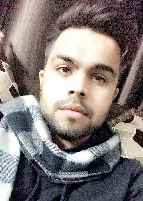 Akhil Pasreja in a selfie in January 2018