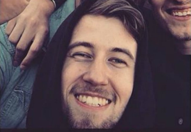 Alan Walker in a selfie