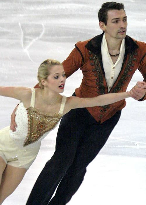 Alexa Scimeca Knierim and Chris Knierim at the 2015 Grand Prix of Figure Skating Final
