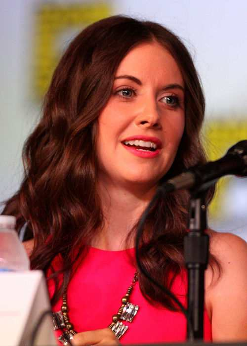 Alison Brie at 2012 Comic-Con in San Diego