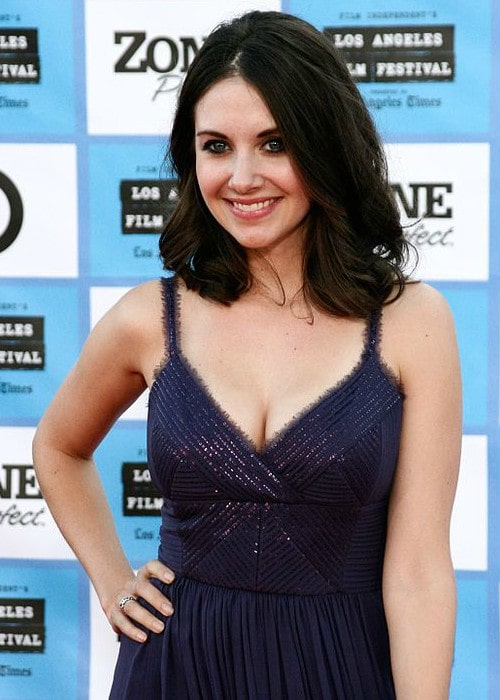 Alison Brie during an event in June 2009