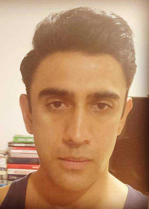 Amit Sadh in an Instagram selfie in December 2017