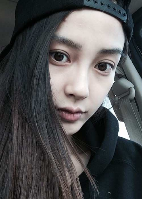 Angelababy in a July 2014 selfie