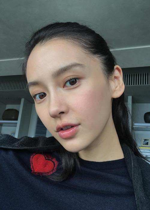 Angelababy in an Instagram selfie in September 2017