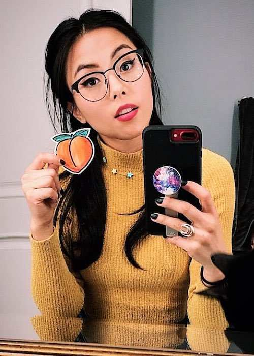 Anna Akana in an Instagram selfie in January 2018