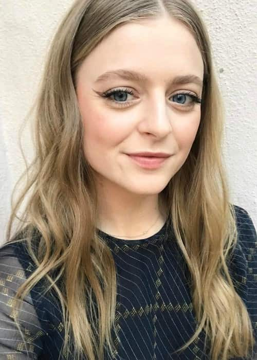 Anna Baryshnikov in an Instagram selfie as seen in March 2017