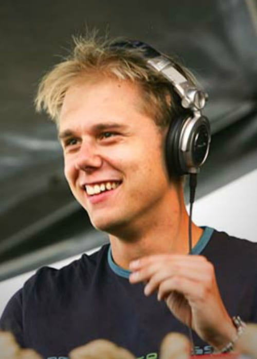 Armin van Buuren as seen in March 2014