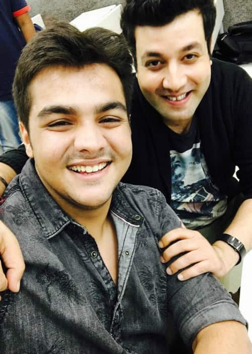 Ashish Chanchlani (Left) and Varun Sharma in an Instagram selfie as seen in December 2017
