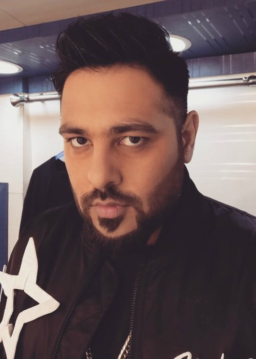 Badshah in an Instagram selfie as seen in August 2017