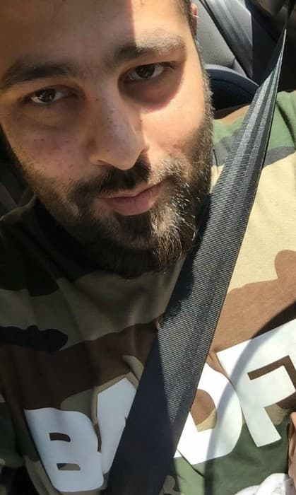 Badshah in an Instagram selfie in October 2017