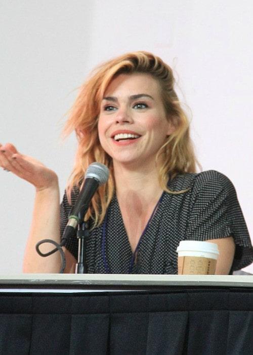 Billie Piper at Space City Comic Con in 2016