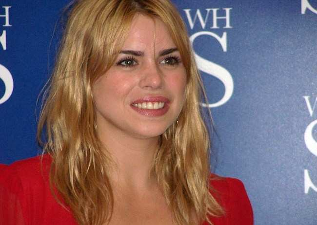 Billie Piper at a Growing Pains book signing event in 2006