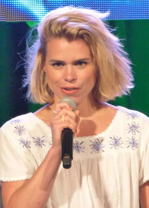 Billie Piper during OZ Comic-Con 2015