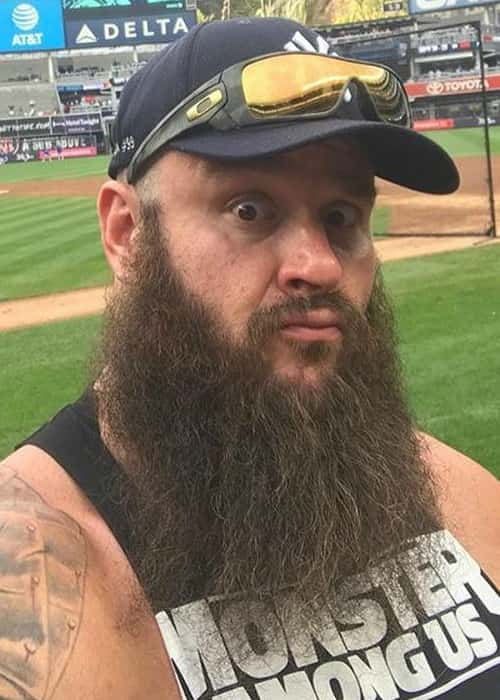Braun Strowman in an Instagram selfie in August 2017