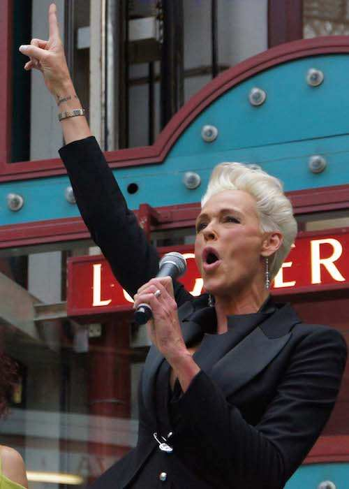 Brigitte Nielsen as Mr. Lugner's special guest for Vienna's annual 'Opernball' in 2012
