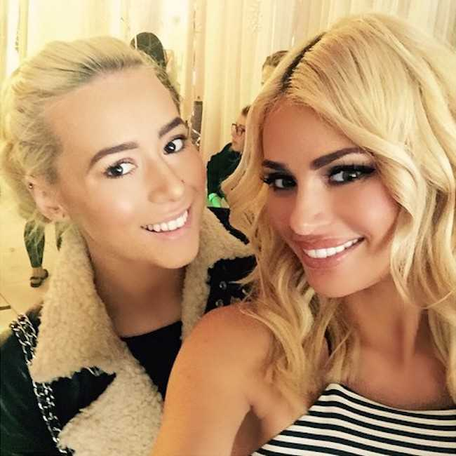 Chloe Sims and Demi Sims as seen in April 2015