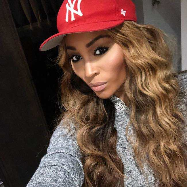 Cynthia Bailey in January 2018 picture