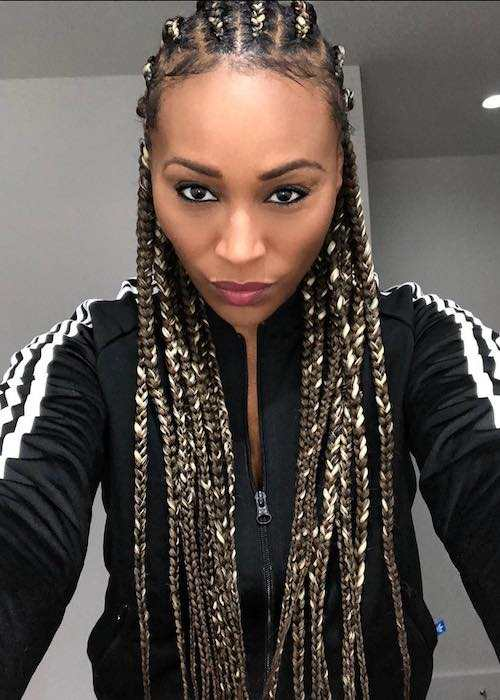 Cynthia Bailey in a selfie in January 2018