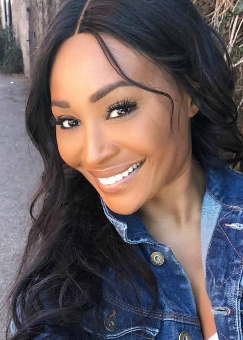 Cynthia Bailey in an Instagram selfie as seen in January 2018