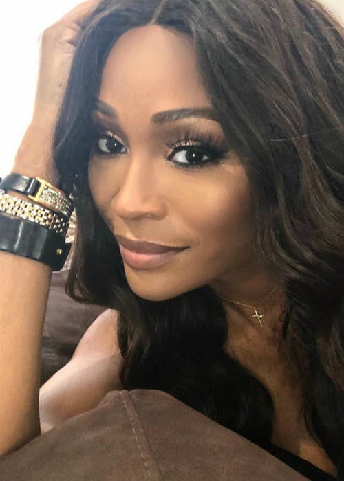 Cynthia Bailey in an Instagram selfie in February 2018