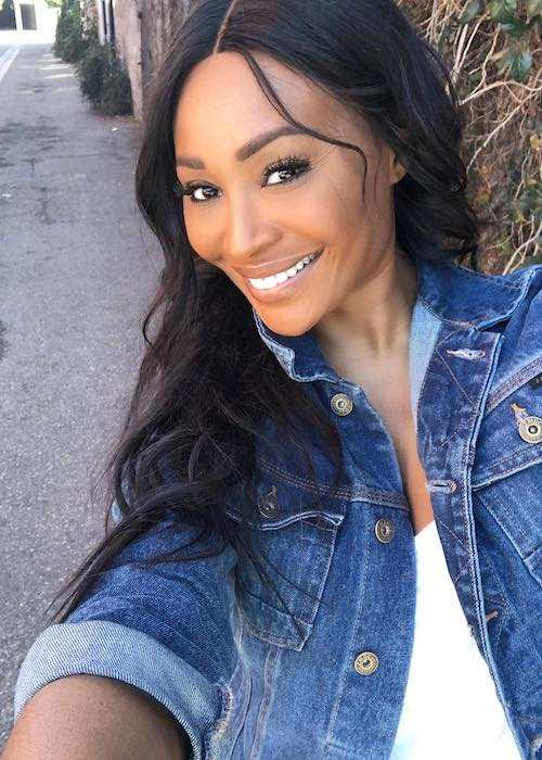 Cynthia Bailey in an Instagram selfie in January 2018