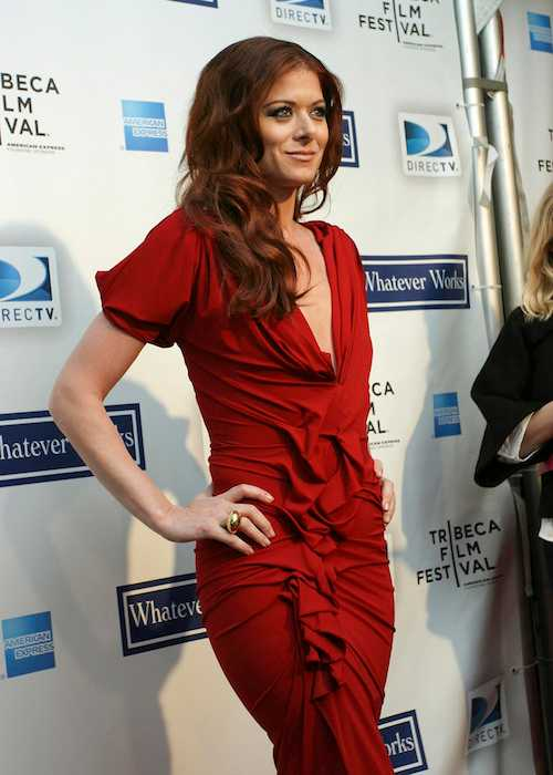 Debra Messing at the Tribeca Film Festival in 2009