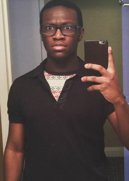 Deji Olatunji in an Instagram selfie in February 2016