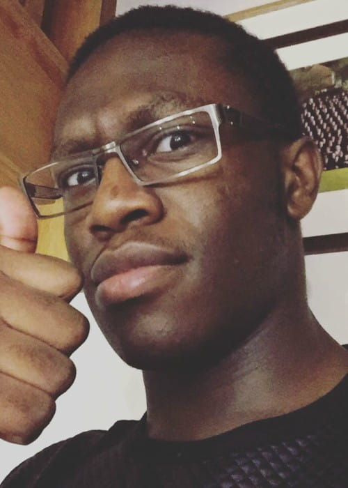 Deji Olatunji in an Instagram selfie in January 2016