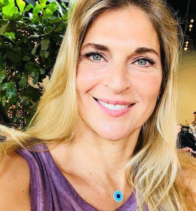 Gabrielle Reece in an Instagram selfie in November 2017