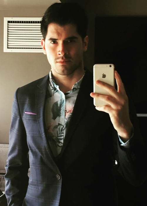 Germán Garmendia in an Instagram selfie as seen in October 2016