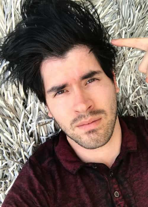 Germán Garmendia in an Instagram selfie in May 2017