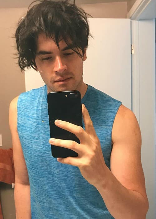 German Garmendia in an Instagram selfie in July 2017