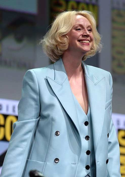 Gwendoline Christie at the 2017 San Diego Comic-Con International